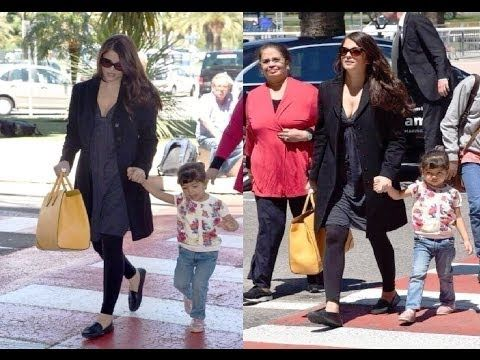Aishwarya Rai with her daughter Aaradhya at Canners Film Festival - LEAKED PHOTOS.