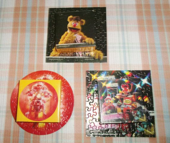 3 Springbok Muppets Mini Jigsaw Puzzles 60-70 Pcs Dr. Teeth and The Electric Mayhem Band