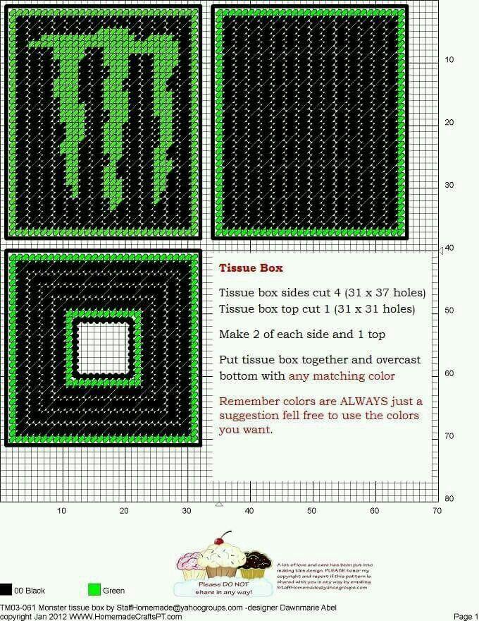 MONSTER ENERGY LOGO TISSUE BOX COVER By DAWNMARIE ABEL