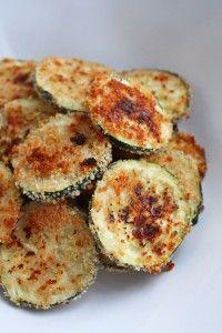 Chips de calabacín (al horno)