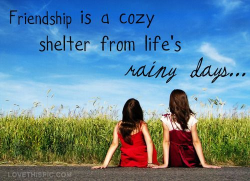 Pinterest Friendship Quotes: Friendship Quotes Cute Friendship Quote Sky Girl Clouds