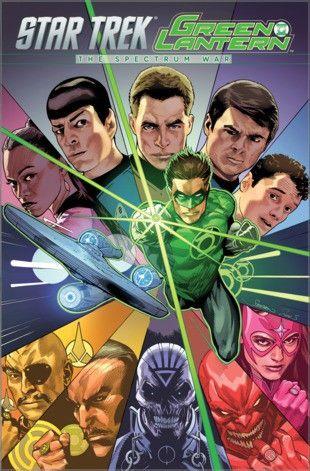 Star Trek/Green Lantern The Spectrum War at Science Fiction Book Club