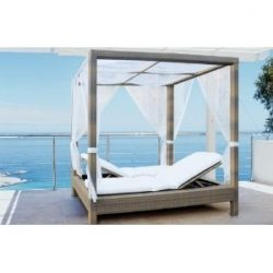 16 best Outdoor Daybed images on Pinterest | Outdoor rooms ... on Living Spaces Outdoor Daybed id=28864