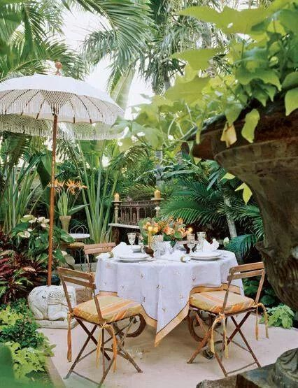 ♥ A cosy setting amidst nature