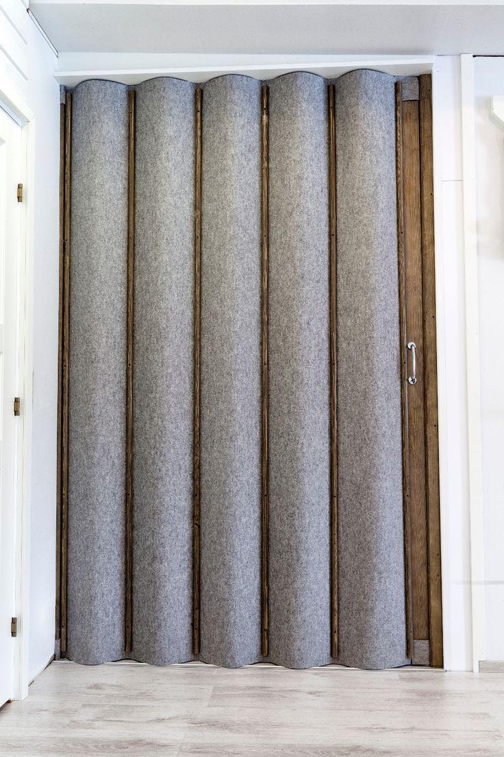 Paljeoven pintamateriaaliksi voidaan valita perinteinen keinonahka tai lämmin luonnonmateriaali huopa.