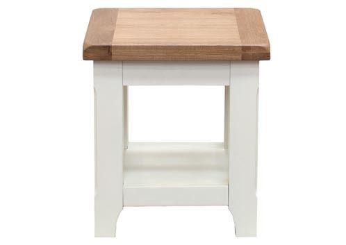 Chaumont, end table,acacia