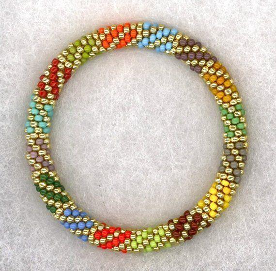 Mejores 27 imágenes de Bead crochet en Pinterest | Collares, Cuerda ...