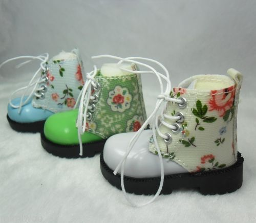 MSD Sasha Obitsu 60cm Bjd High Hill Shoes Flower White SHM078WHE