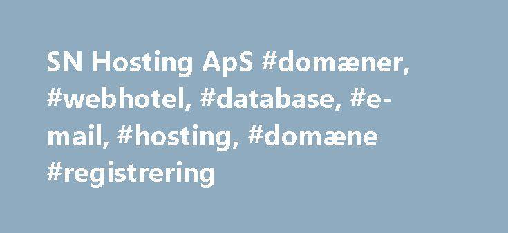 SN Hosting ApS #domæner, #webhotel, #database, #e-mail, #hosting, #domæne #registrering http://columbus.remmont.com/sn-hosting-aps-domaener-webhotel-database-e-mail-hosting-domaene-registrering/  # Cloud Computing – skyen Meget kort fortalt adskiller Cloud Computing sig fra outsourcing, ved at man løbende kan skalere sine produkter – i teorien grænseløst og i praksis så langt at det for de fleste kunder også i praksis bliver grænseløst. Cloud Computing giver derved brugeren ekstra frihed…