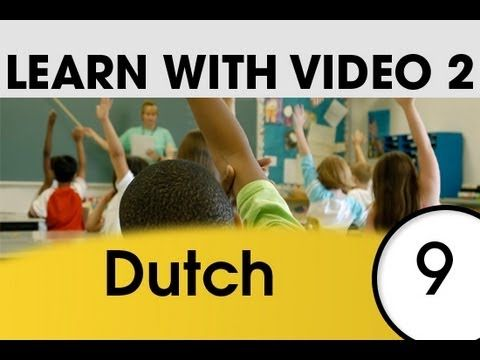Learn Dutch with Pictures and Video - Dutch Expressions and Words for the Classroom 2 - YouTube