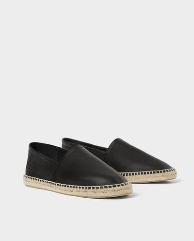 f337714c LEATHER AND JUTE ESPADRILLES-NEW IN-MAN   ZARA United States   T ...