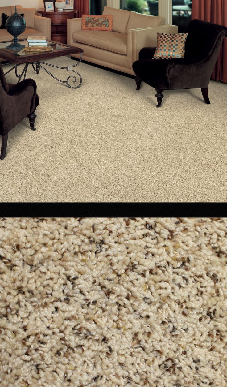 Give your floor a fabulous face-lift with Crestview Frieze Carpet. A great addition to any decor, this textured carpet features flecks of Brown and Beige tones that beautify any room in your home!