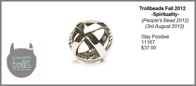 Trollbeads Fall 2012 Spirituality Collection - Stay Positive