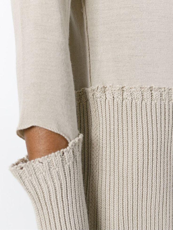 Maison Margiela cut out sweater