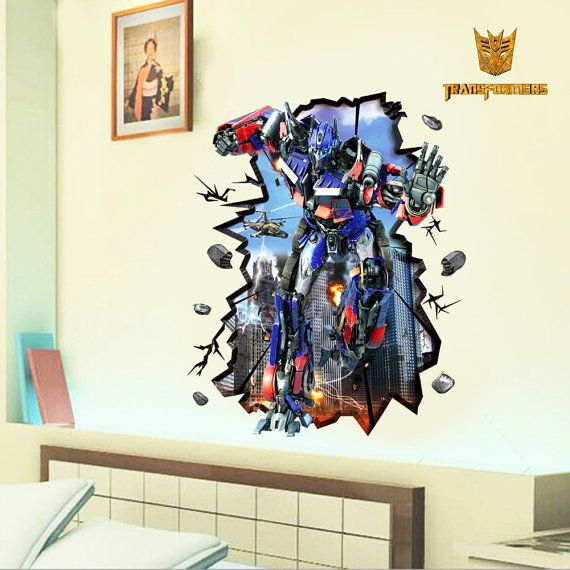 Wall DecalsTransformers/Optimus Prime Big 3d by