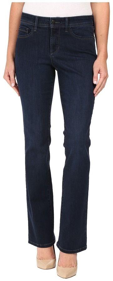 NYDJ Billie Mini Bootcut Jeans in Verdun Wash