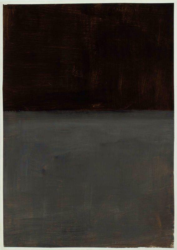 mark rothko - untitled (brown & grey) (1969)