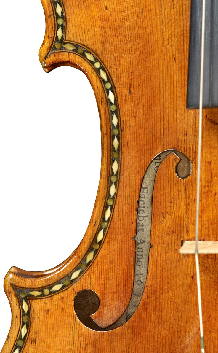 1677, Antonio Stradivari. I can not imagine how it will sound even better than it looks.