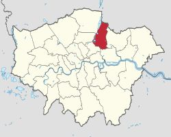 Waltham Forest shown within Greater London