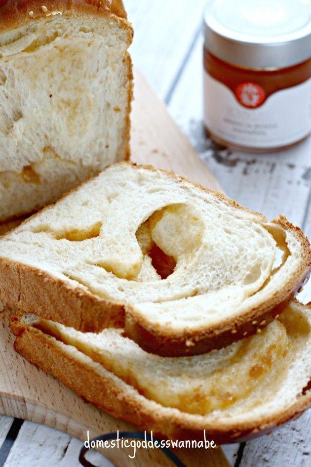 Blood Orange Swirl Bread Loaf