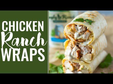 Chicken Ranch Wraps | Gimme Delicious