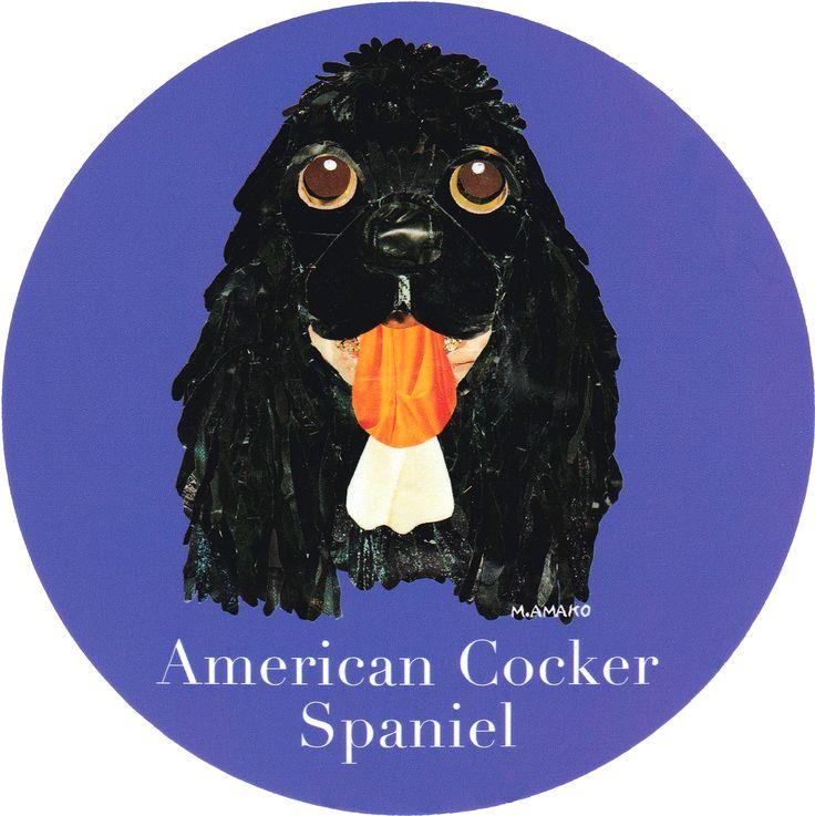 マイ @Behance プロジェクトを見る : 「003   American Cocker Spaniel (Black)」 https://www.behance.net/gallery/42195781/003-American-Cocker-Spaniel-(Black)