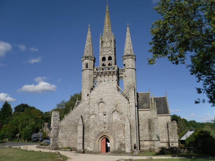 Chapelle St Fiacre - Le Faouet - Pays roi Morvan - Morbihan Bretagne Sud