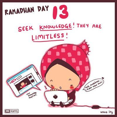"day 13 ""seek knowledge"""