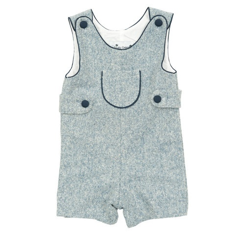 Baby Boy | Busy Bees | Childrens clothes, Blue tweed ...