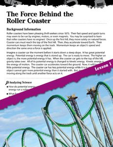 Roller coasters the science behind the
