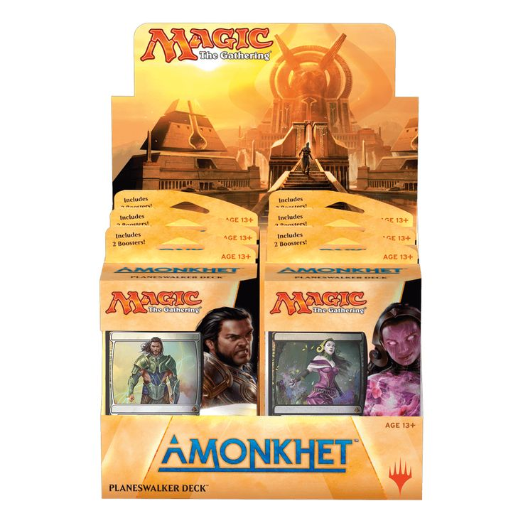 Magic the Gathering Amonkhet Planeswalker Deck Set of 2 PRESALE
