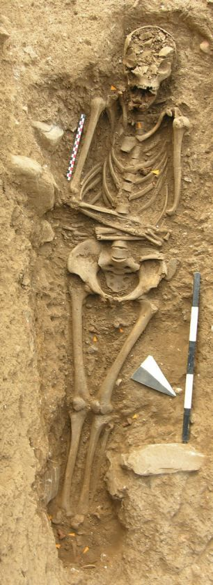 A Grisly End : 800-year-old remains of a witch discovered in Italian graveyard...with seven nails drive through her jaw.
