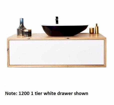Momento Eureka 750mm 1 tier solid timber vanity | Bathroomware House