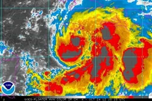 Haïti-Météo : La tempête tropicale Sandra n'est plus un danger