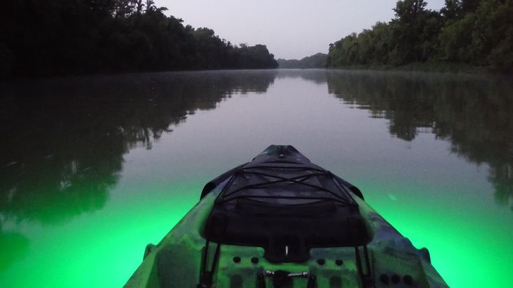 17 best images about kayak lights on pinterest warm for Green light fishing