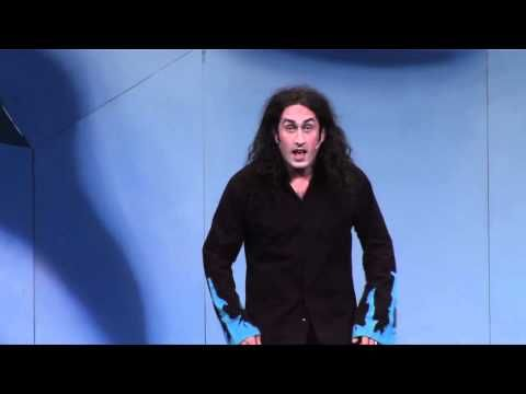 Ross Noble... ummm... is Ross Noble.