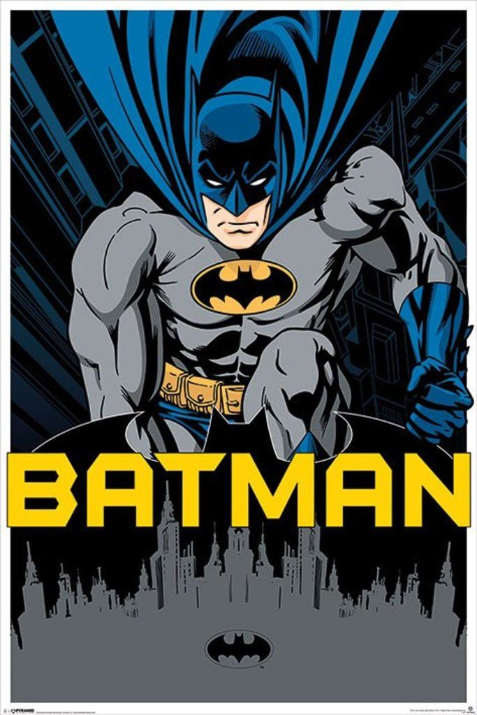 Batman - City - Official Poster. Official Merchandise. Size: 61cm x 91.5cm. FREE SHIPPING