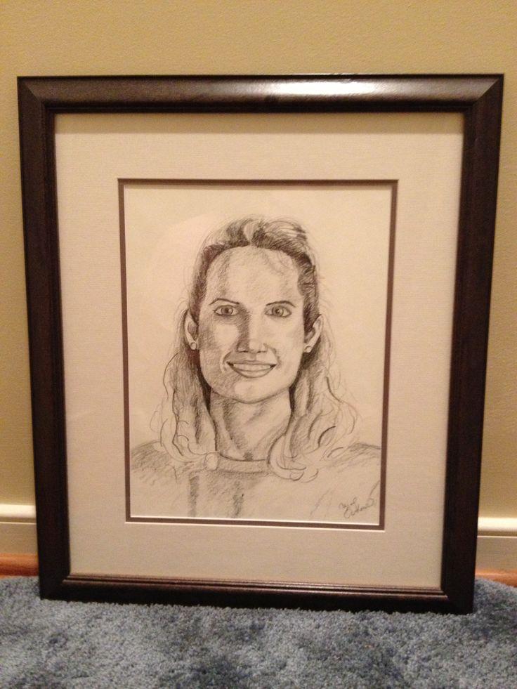 Self-portrait by Carol Jones