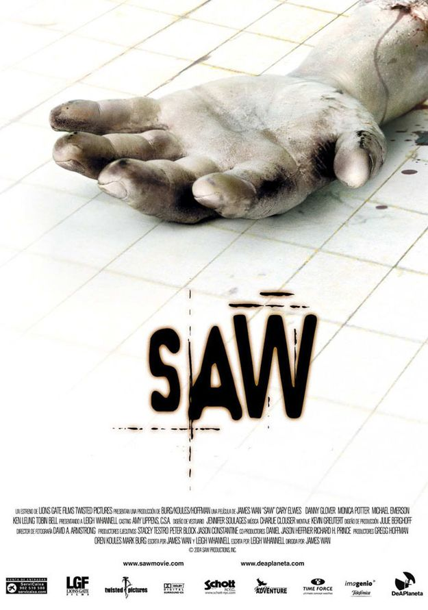 'Saw' was filmed in only 18 days. | 34 Facts About Scary Movies That Will Blow Your Mind