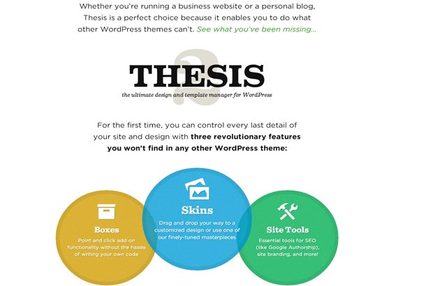thesis statement for web design A thesis statement is one of the greatest unifying aspects of a paper  the main  point of the paper in a nutshell, and pointing toward the paper's development.
