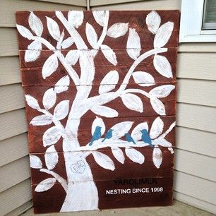 family tree sign DIY