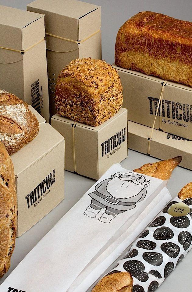 TRITICUM – package design for bread
