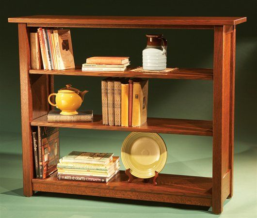Simple wooden bookcase plans woodworking projects