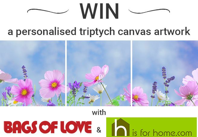 Win a personalised triptych canvas artwork from Bags of Love  https://wn.nr/X7YMJU