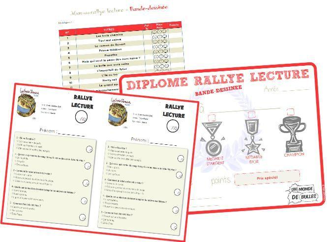Organiser un rallye lecture – Cycle 2 et Cycle 3 | ma classe mon école - cycle 3 - CE2 CM1 CM2 - Orphys