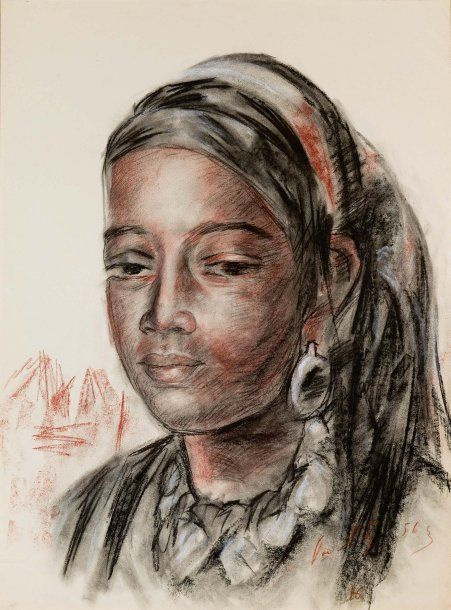 Henri Pontoy - La belle marocaine