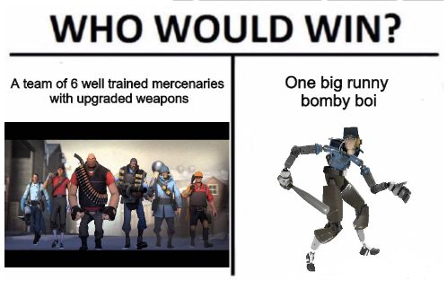 Who would win? #games #teamfortress2 #steam #tf2 #SteamNewRelease #gaming #Valve