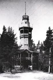 the old observation tower, Pyynikki Tampere