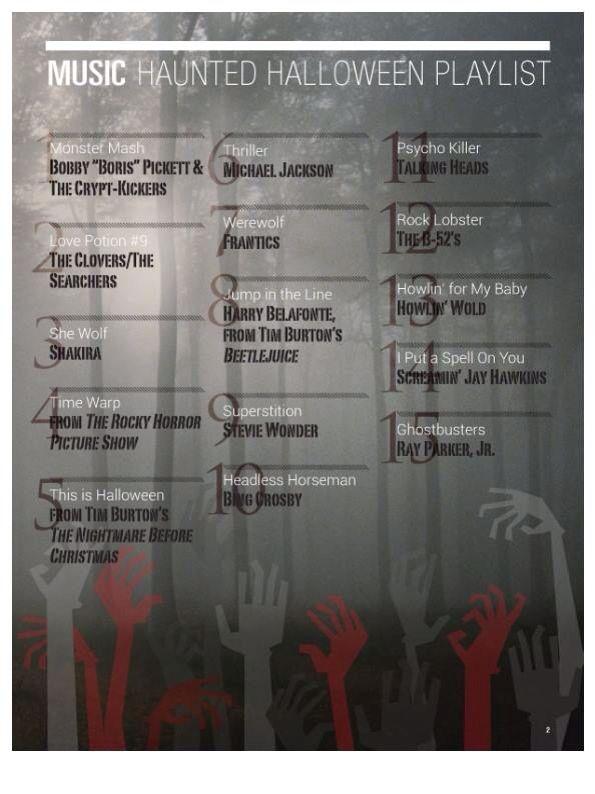 Halloween Playlist
