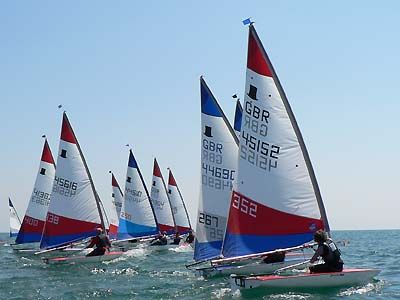 Topper Sailing Dinghy - My favourite boat to sail